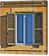 Roman Window Acrylic Print