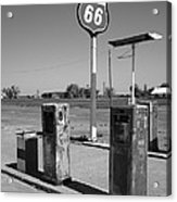 Route 66 Gas Pumps Acrylic Print
