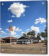 Route 66 - Midpoint Cafe Adrian Texas Acrylic Print