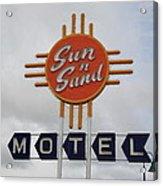 Route 66 - Santa Rosa New Mexico Acrylic Print by Frank Romeo