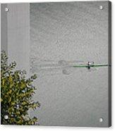 Rower On Douro Acrylic Print