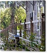 Rustic Country Front Porch Acrylic Print