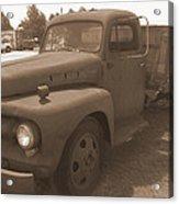 Rusty Ford Truck Acrylic Print