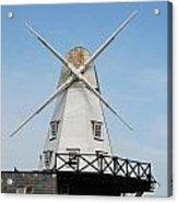 Rye Windmill Acrylic Print