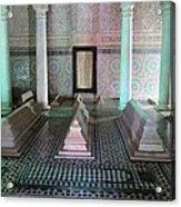 Saadian Tombs 2 Acrylic Print