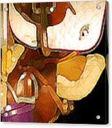 2 Saddles Bucket 14592 Acrylic Print