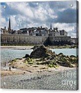 Saint Malo Acrylic Print
