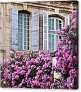 Saint Remy Windows Acrylic Print