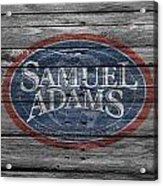 Samuel Adams Acrylic Print
