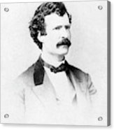 Samuel Langhorne Clemens (1835-1910) Acrylic Print