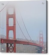San Francisco - Golden Gate Bridge  Acrylic Print