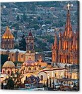 San Miguel De Allende, Mexico Acrylic Print