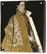 Sanchez Coello, Alonso 1531-1588 Acrylic Print