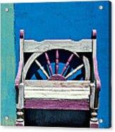 Santa Fe Chair Acrylic Print