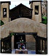 Santuario De Chimayo Acrylic Print