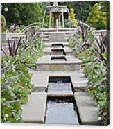 Sarah Lee Baker Perennial Garden 3 Acrylic Print