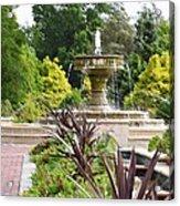 Sarah Lee Baker Perennial Garden  4 Acrylic Print