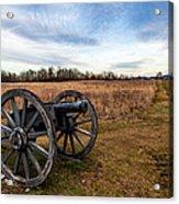Saratoga Battlefield Acrylic Print