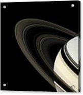 Saturn's Rings Acrylic Print