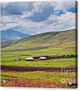Savannah Landscape In Tanzania Acrylic Print