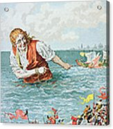 Scene From Gullivers Travels Acrylic Print