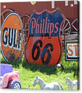 Scenes From An Antique Store In South Dakota Acrylic Print