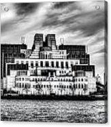 Secret Service Building London Acrylic Print