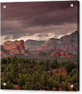 Sedona Red Rocks  Acrylic Print