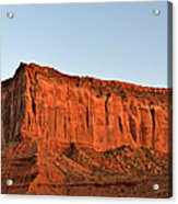Sentinel Mesa Monument Valley Acrylic Print by Christine Till