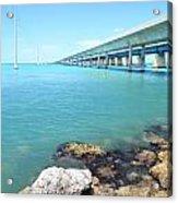 Seven Mile Bridge-1 Acrylic Print