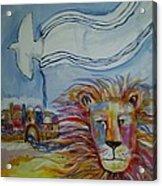 Shalom Acrylic Print