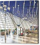 Shanghai Pudong Airport In China Acrylic Print