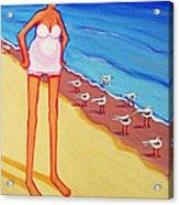 Shorebirds Of A Feather Acrylic Print