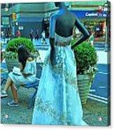 Sidewalk Catwalk 13 Acrylic Print