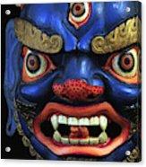 Sikkim Dance Mask, India Acrylic Print