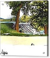 Silver Lake Mill -summer Acrylic Print