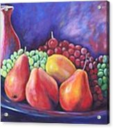 Simple Abundance Acrylic Print by Eve  Wheeler