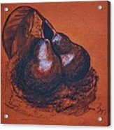 Simply Pears Acrylic Print