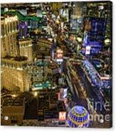 Sin City Acrylic Print by Eddie Yerkish