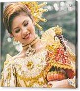 Sinulog Festival In Cebu Of Philippines Acrylic Print