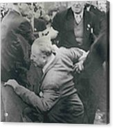 Sir Oswald Mosley Dies In Paris Acrylic Print