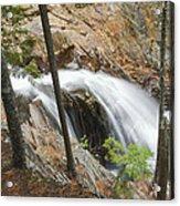 Smalls Falls In Western Maine Acrylic Print