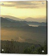 Smoky Mountain Sunrise Acrylic Print