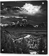 Snake River Overlook Acrylic Print by Andrew Soundarajan