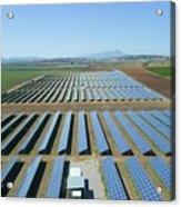 Solar Array Acrylic Print