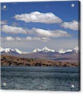 South America, Bolivia, Lake Titicaca Acrylic Print