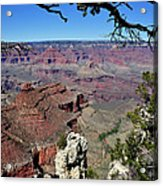 South Rim Of The Grand Canyon Acrylic Print