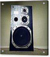 Speaker Acrylic Print