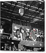 Spirit Room Bar Connor Hotel Jerome Arizona 1971-2013 Acrylic Print