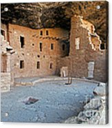 Spruce Tree House Mesa Verde National Park Acrylic Print